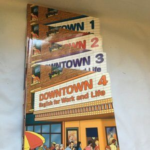 Downtown 1,2,3 And 4 English For Work And Life